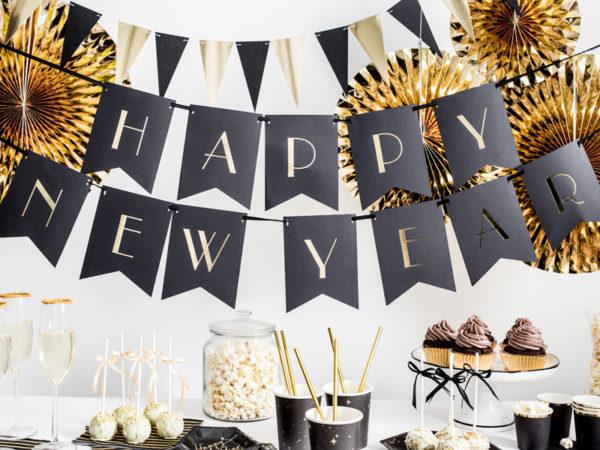 baner noworoczny, baner sylwestrowy, sylwester, nowy rok, baner happy new year