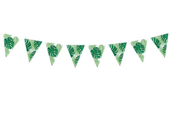 girlanda tropikalna Aloha!, girlanda na tropikalne party, girlanda na party w stylu hawajskim