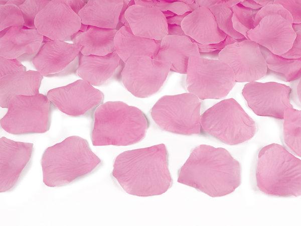 konfetti różowe płatki róż, konfetti różowe tuba