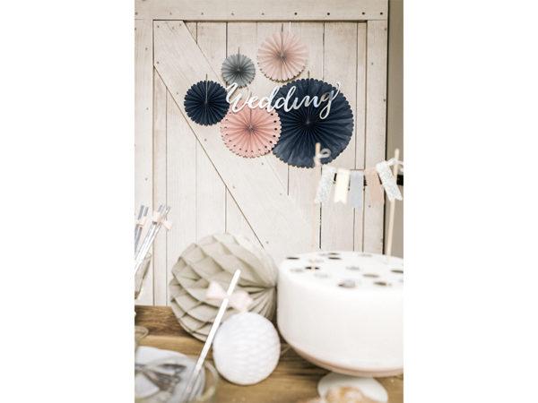paper decoration set, rozety papierowe dekoracyjne mix, dekoracje candy bar, dekoracje urodzinowe, dodatki na imprezy, dekoracje na wesele, paper rosettes,