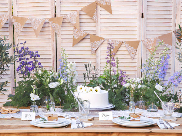 srebrny topper na tort weselny, srebrne dekoracje na tort weselny, srebrne dekoracje na candy-bar, topper na tort