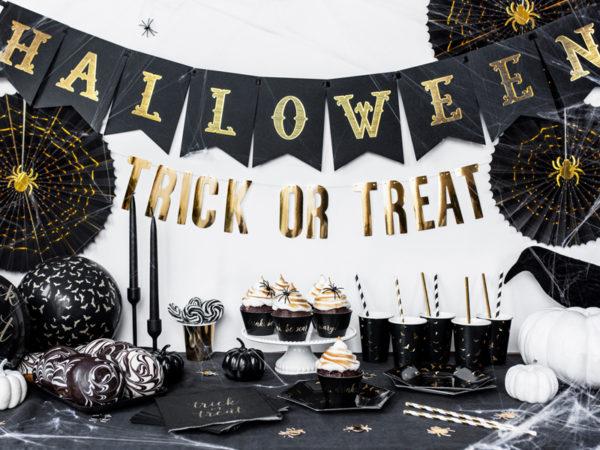 baner Halloween, papierowe dekoracje na halloween, Halloween Banner, paper decoration Halloween