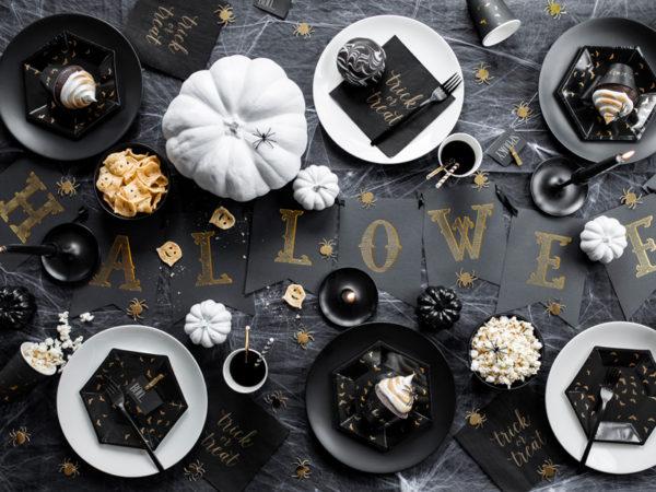 papierowe dekoracje na halloween, baner Halloween, Halloween Banner, paper decoration Halloween
