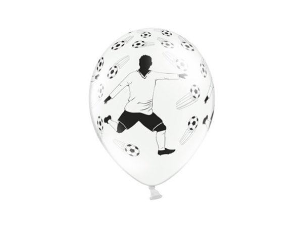 balon 30 cm piłkarz, balon w piłki nożne i piłkarza