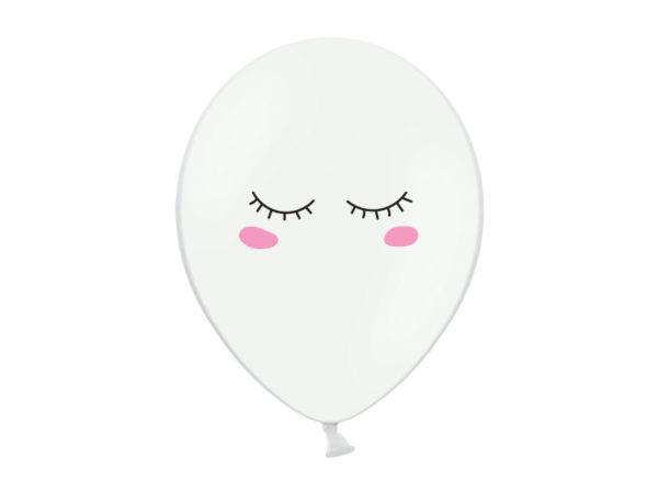 balon buźka 30 cm, balon na przyjęcie dziewczynki
