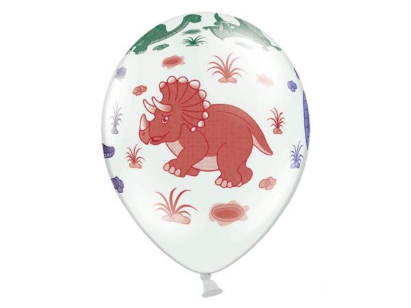balon dinozaury, balon 30 cm dinozaury, balon urodzinowy w dinozaury 30 cm