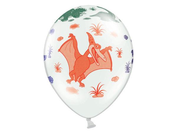 balon urodzinowy w dinozaury, balon dinozaury, balon 30 cm dinozaury,