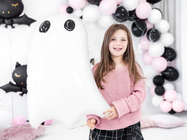 balony foliowe halloween, balon foliowy duszek, balony na halloween, dekoracje na halloween, dekoracje imprezowe halloween, balony z helem halloween