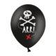piracki balon 30 cm, balon na przyjęcie dla chłopca, dekoracje balonowe piraci, dekoracje na przyjęcia piraci