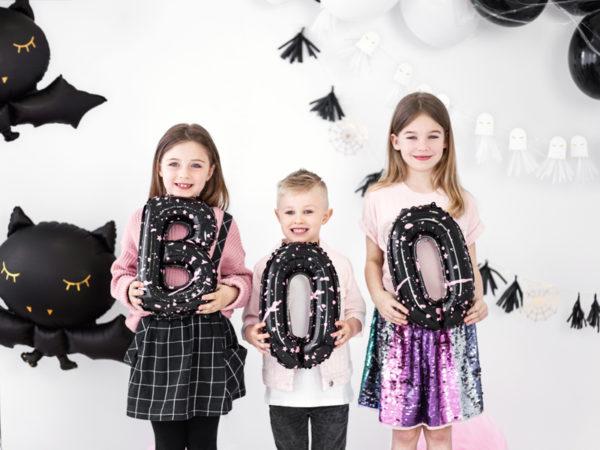 balon foliowy na halloween, dekoracje na halloween