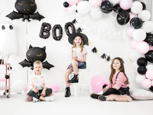 dekoracje na impreze halloween, balony na impreze halloween