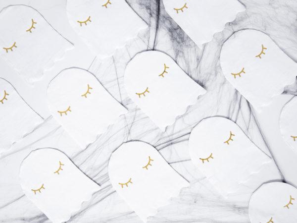 serwetki duszki na halloween party, serwetki papierowe duszki na halloween, serwetki papierowe na halloween,