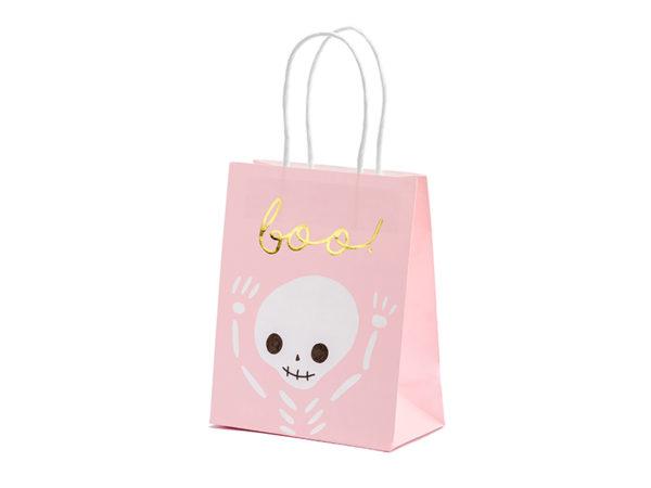torebki szkielety na słodycze halloween, torebki szkielety, torebki na słodycze szkielety,