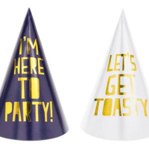 czapeczki na imprezę, czapeczki urodzinowe, czapeczki na sylwestra, czapeczki na 18