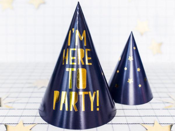 czapeczki na sylwestra, czapeczki na imprezę, czapeczki urodzinowe, czapeczki na 18