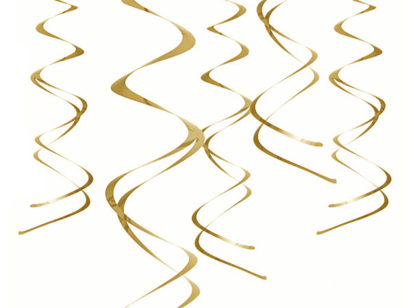 dekoracje noworoczne złote świderki , dekoracje wiszące świderki złote, dekoracje na imprezę, dekoracje urodzinowe wiszące złote, dekoracje candy bar wizące złote, dekoracje sylwestrowe wiszące złote,