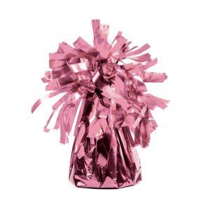ciężarek do balonów różowe złoto, obciążnik do balonów różowe złoto, uchwyt do balonów różowe złoto, stojak do balonów