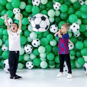 balon piłka nożna, balony dla piłkarza, balony urodzinowe, balony na imprezę, balon helowy, balon z helem, dekoracje baonowe,