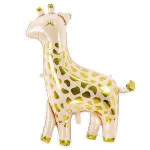 balon foliowy żyrafa, balon helowy żyrafa, balon na przyjęcie safari