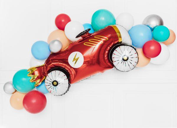 balon foliowy auto, balon helowy auto